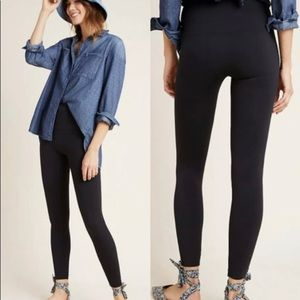 NEW SPANX Look at Me Now Black Seamless Legging